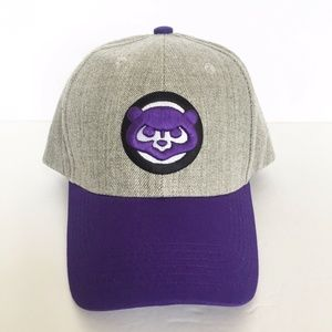 Chicago Cubs Northwestern Wildcats Adjustable Hat